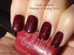 """CND 's Shellac in """"Fedora"""" and """"Ruby Ritz"""""""