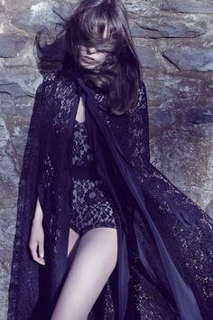 Bohemian Fashion Trend - Dolce and Gabbana Bodysuit - Marie Claire