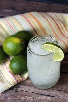 Refreshing Limeade Slush | Fireflies and Mud Pies