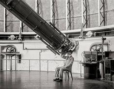 Astronomy Photo Telescope Print Professor Sees Cheese Old