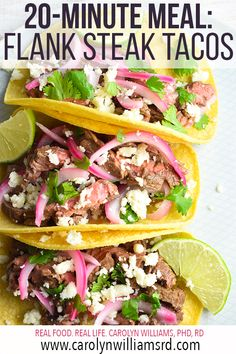 Used this for pickled onion recipe Flank Steak Tacos, Balsamic Flank Steak, Beef Flank, Steak In Oven, Marinated Flank Steak, Flank Steak Recipes, Beef Steak, Onion Recipes, Mexican Food Recipes