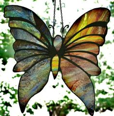 Stained Glass Suncatcher. $25.00, via Etsy.