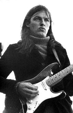 David Gilmour, turtleneck