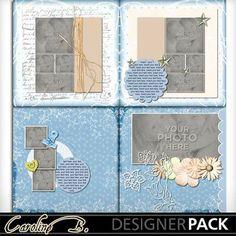 Digital Scrapbooking Kits | Amy 12x12 Album 3-(carolnb) | Babies, Birthdays, Family, Girls, Kid Fun, Weddings | MyMemories