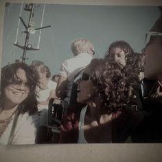 Photo Tania Vera y Mafalda paseo de barco