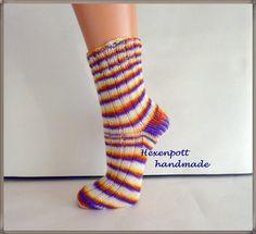 +Socken+handgestrickt+Krokus+Gr.+38-39+von+Hexenpott+auf+DaWanda.com