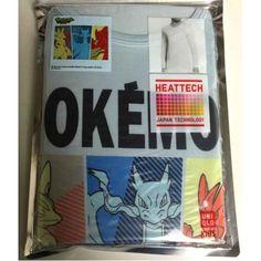 Pokemon 2014 Uniqlo Heattech Mega Lucario Charizard X Blaziken Childrens Size Thermal Tshirt