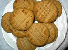 No Carb Peanut Butter Cookies-Ingredients: 1 c natural peanut butter (or your choice) 1 large egg 1/2 c splenda dash vanilla (optional)