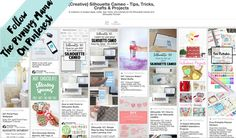 Follow The Pinning Mama on Pinterest to keep up with the best tutorials, project ideas, and freebies for the Silhouette CAMEO.
