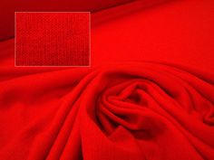 1x1 Merino Rib, Medium Weight, Infra Red, Levana Textiles Factory Shop, Made in New Zealand