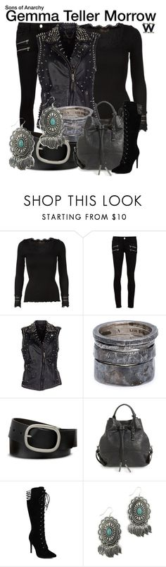 """""""Sons of Anarchy"""" by wearwhatyouwatch ❤ liked on Polyvore featuring Rosemunde, Paige Denim, MuuBaa, Lee Brennan Design, Mixit, Treasure & Bond, Blazin Roxx, women's clothing, women's fashion and women"""
