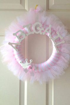 Name wreath