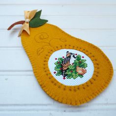 Partridge in a Pear Tree Cross Stitch and by SnowBerryNeedleArts