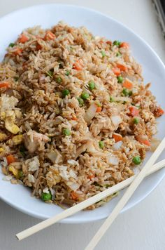 BETTER-THAN-TAKEOUT CHICKEN FRIED RICE - Rachel Schultz