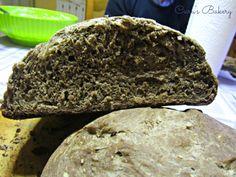 pane nero ai 7 cereali con semi di girasole e sesamo