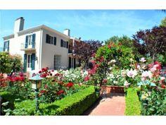 Pretty rose garden. Singer Mansion, Glendora, CA