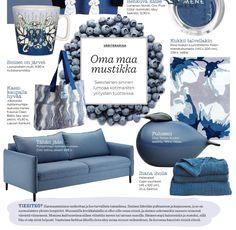 Pohjanmaan sinisävyinen Chic-sohva esittelyssä uusimmassa Kotivinkki-lehdessä! 💙 Chic saatavana Isku-myymälöistä.  #pohjanmaan #pohjanmaankaluste #kotivinkki #suomi100 #koti #sohva #olohuone