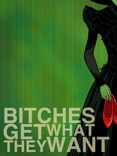 Bitches Get What They Want by chrisables.deviantart.com on @deviantART