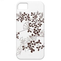 iPhone 5 Barely There Flowers  Fans iPhone 5 Cover