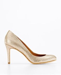 Glitter Perfect Pumps from Ann Taylor, $158