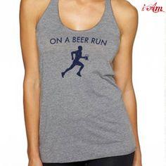 On a Beer Run  http://www.iamfunnyshirts.com/on-a-beer-run-running-shirt/