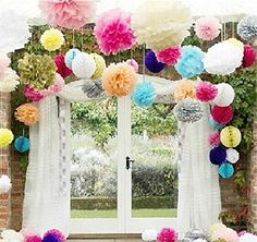 Tissue paper flowers are very easy and cheap to make but they create a wonderful visual impact at weddings. You can make them smaller or larger depending on your desired look and the space you have to decorate. They can also be customized to match your wedding colors.  Using tissue paper flowers is a great way to decorate …