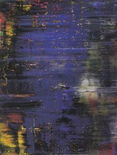 Gerhard Richter, Wald (1), Forêt (1), 1990. Huile sur toile, 340 cm x 260 cm. Catalogue Raisonné: 731. © 2017 Gerhard Richter