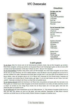 New York Cheesecake #cheesecake #recipe #rezept