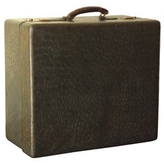Ostrich Leather Travel Case | From a unique collection of antique and modern trunks and luggage at http://www.1stdibs.com/furniture/more-furniture-collectibles/trunks-luggage/