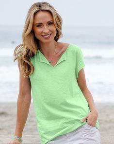 Style Essentials, Fashion Essentials, Fresh Produce Clothing, Wide Pants, Comfortable Fashion, Cap Sleeves, Hemline, Beachwear, Hairstyles