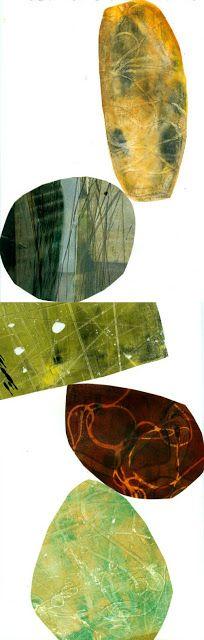 collage journeys: Progress on my Shape Pieces