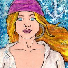 Pirate Aldawilda by Artist DePaula