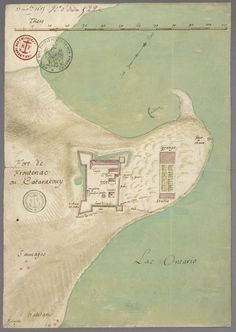 1685 Fort Frontenac or Kataracouy, Foundation - Library and Archives Canada