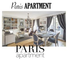 """""""Paris"""" by the-luxurious-glam ❤ liked on Polyvore featuring interior, interiors, interior design, home, home decor, interior decorating and parisapartment"""