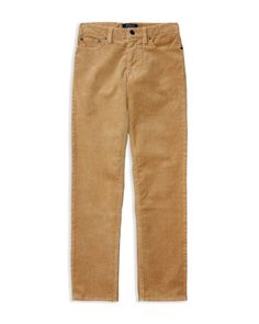 Ralph Lauren Childrenswear Boys' Skinny Corduroy Pants - Sizes 8-20