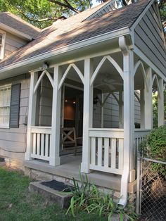 (would be great breezeway design)porch via everyday occaions by Jenny Steffens Hobick