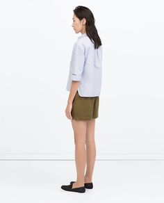 Image 5 of SHORTS WITH BIG POCKETS from Zara