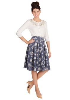 Tea Date Skirt, @ModCloth