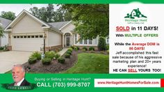 http://ift.tt/2m6KFgL SOLD Home at Heritage Hunt Golf and Country Club by Best Realtor JEFF LUBELL of Remax Premier in JUST 11 DAYS WITH MULTIPLE OFFERS. He accomplished this fast sale because of his aggressive marketing plan and 20 years real estate experience! If you are selling in Gainesville  VA  HE CAN HELP YOU TOO!! BUYING OR SELLING AT HERITAGE HUNT OR IN GAINESVILLE  VIRGINIA? CALL JEFF LUBELL AT (703) 999-8707. If you want to see available listings at Heritage Hunt visit…