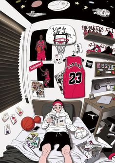 Discover the finest artists from animation, games, illustration and comics. Trill Art, Hype Wallpaper, Supreme Wallpaper Hd, Nike Wallpaper Iphone, Wallpaper Doodle, Hypebeast Wallpaper, Sneaker Art, Basketball Art, Animation