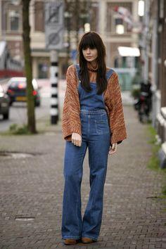 THE DENIM OVERALL by FashionZen via Chictopia