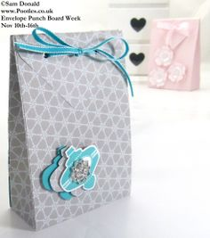 POOTLES Stampin Up ENVELOPE PUNCH BOARD WEEK The Folded Gift Bag  4