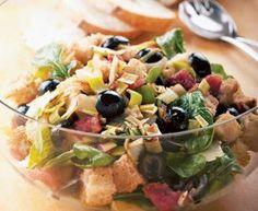 San Francisco Grilled Sourdough Salad