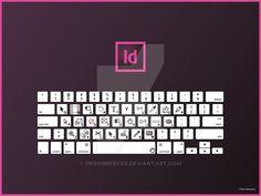 Indesign Keyboard Shortcuts QWERTY by ensombrecer.deviantart.com on @DeviantArt