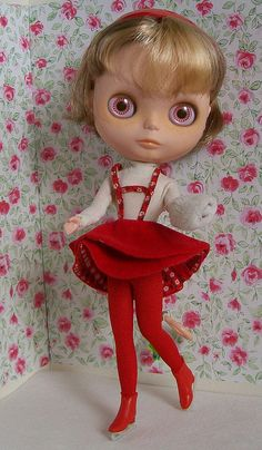 Phoebe in vintage Skipper by Gina2424, via Flickr