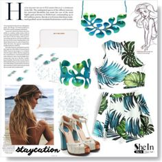 Designer Clothes, Shoes & Bags for Women Greek Jewelry, Staycation, Fendi, Mermaid, Fashion Jewelry, Michael Kors, Holiday, Polyvore, Design
