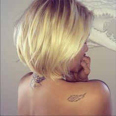 Les tatouages de Caroline Receveur
