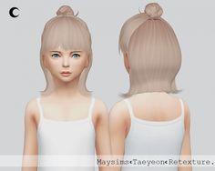 Taeyeon Child at Kalewa-a • Sims 4 Updates