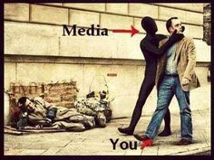 Don't be mindless about mass media. Pictures With Deep Meaning, Meaningful Pictures, Meaningful Drawings, Satirical Illustrations, New World Order, Real Life, Real Real, Life Quotes, Drama