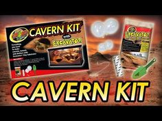 Zoo Med's Cavern Kit provides everything you need to make caverns, tunnels, and shelters with Excavator® Clay Substrate. When working with Excavator® Clay, the only limit is your imagination!